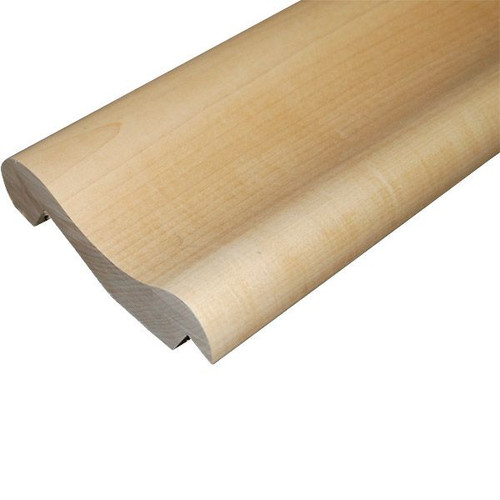 Traditional Wood Bar Arm Rest Molding - Hard Maple