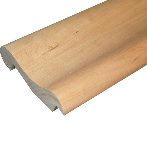 Traditional Wood Bar Arm Rest Molding - Cherry