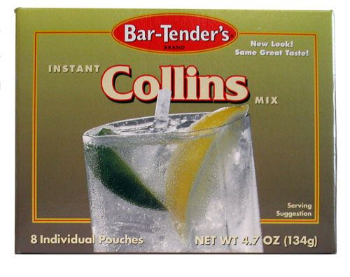 Bar-Tenders Collins Instant Cocktail Mix