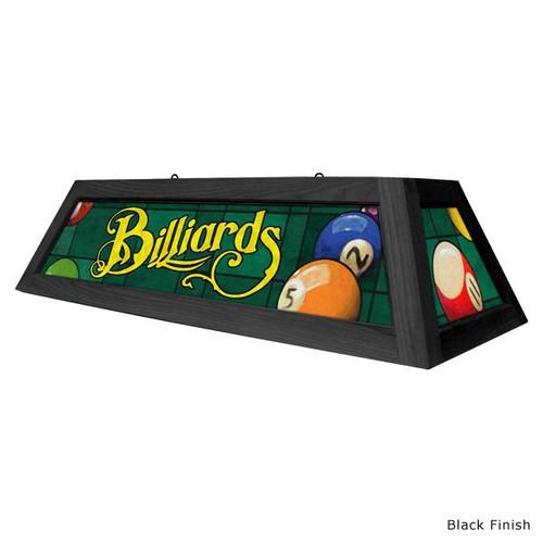 Classic Green Billiards Pool Table Light