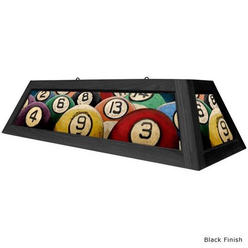 Rack'em Billiard Ball Pool Table Light
