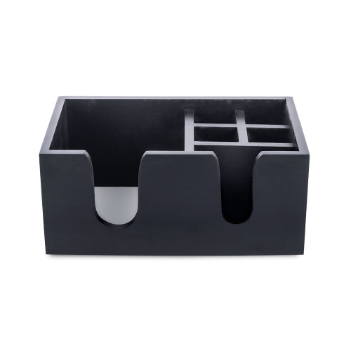 Wooden Bar Caddy - 6 Compartments