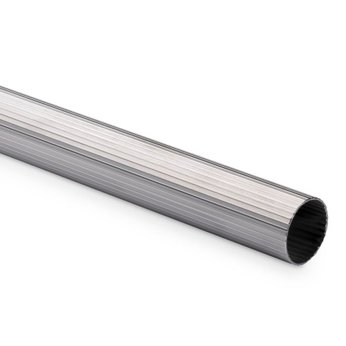 Hand / Bar Rail Tubing - Ribbed Stainless Steel - 1.5 OD