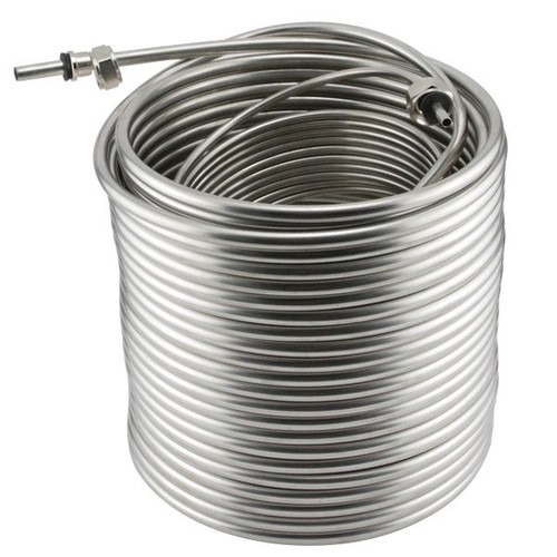 Stainless Steel Coil for Jockey Box 120-foot Length