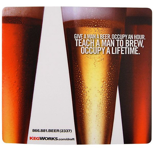 Teach A Man To Brew, Occupy A Lifetime Mouse Pad