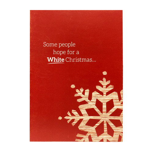 Holiday Greeting Card - Red Wine Christmas