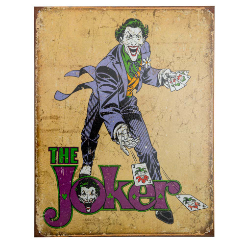 The Joker Retro Metal Bar Sign