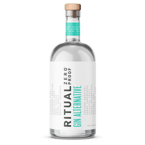 Ritual Gin Alternative - Zero Proof - Non-Alcoholic - 750ml