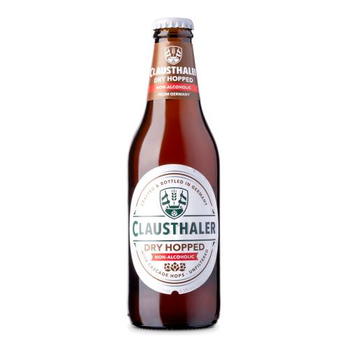 Clausthaler Amber Dry Hopped Non-Alcoholic Near Beer - 12 oz Bottle