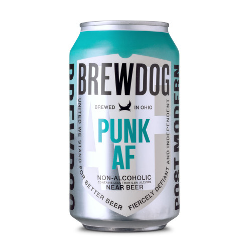 Brewdog Punk AF Pale Ale Non-Alcoholic Near Beer - 12 oz Can