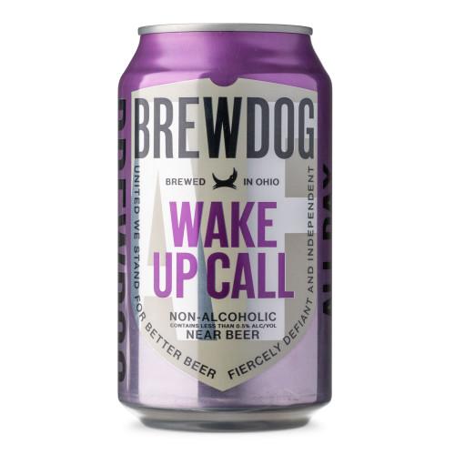 Brewdog Wake Up Call Dark Espresso Stout Non-Alcoholic Near Beer - 12 oz Can