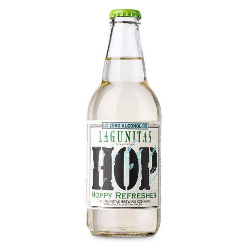 Lagunitas Hoppy Refresher IPA-Inspired Non-Alcoholic Sparkling Beverage - 12 oz Bottle
