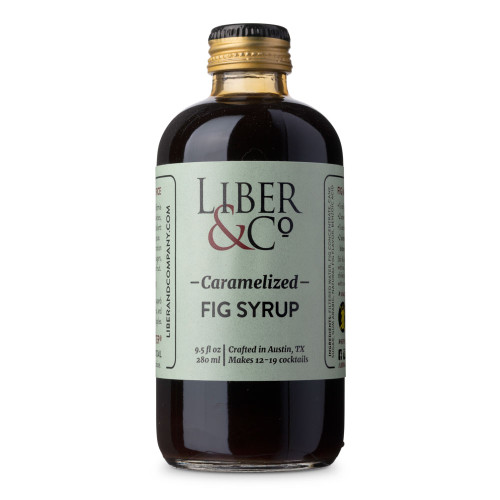 Liber & Co. Caramelized Fig Syrup - 9.5 oz