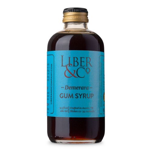 Liber & Co. Demerara Gum Syrup - 9.5 oz