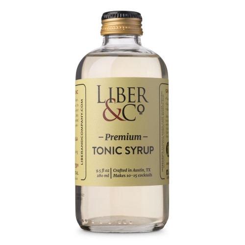 Liber & Co. Premium Tonic Syrup - 9.5 oz