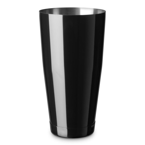 Barfly Gloss Black Tall Shaker Tin - Stainless Steel - 28 oz