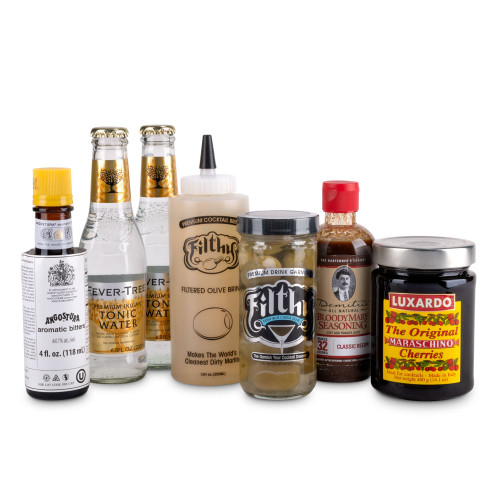 Classic Cocktail Ingredients Starter Kit