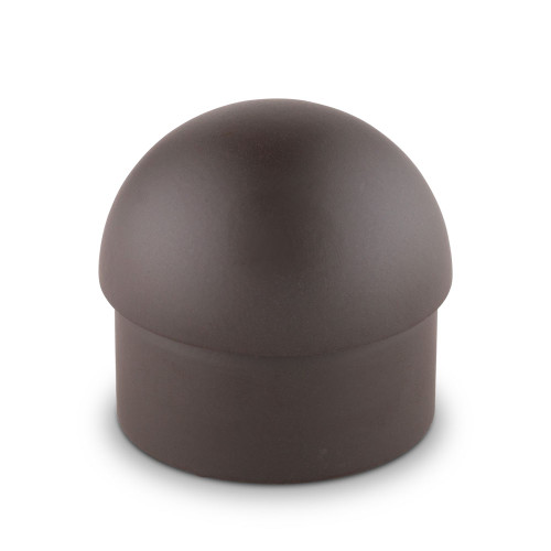 """Domed End Cap - Oil Rubbed Bronze - 1.5"""" OD"""
