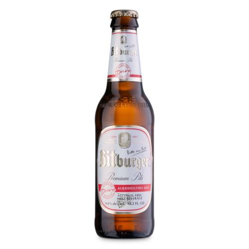 Bitburger Drive Non-Alcoholic German Beer - 11.16 oz Bottle