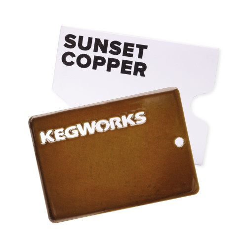 KegWorks Sunset Copper Sample Chip
