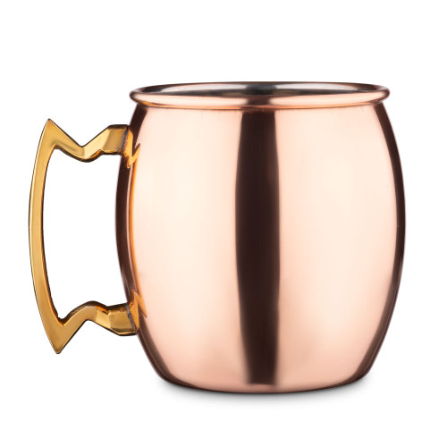 Solid Copper Moscow Mule Mug - 16 oz