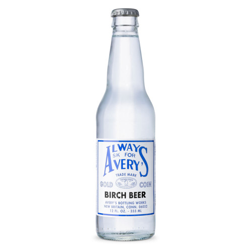 Avery's Soda Birch Beer - 12 oz Bottle