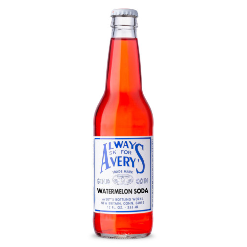 Avery's Watermelon Soda - 12 oz Bottle