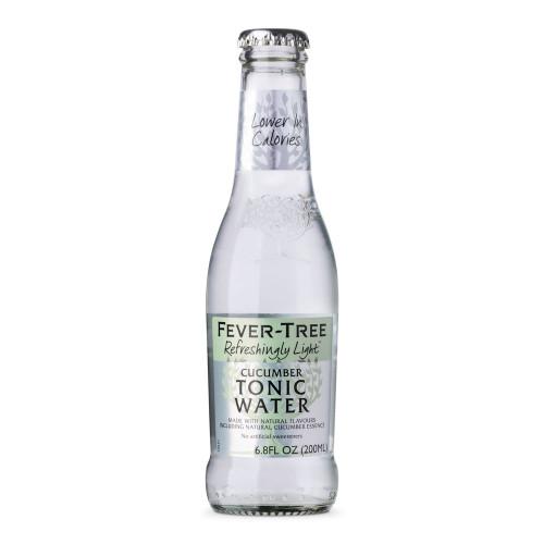 Fever Tree Refreshingly Light Cucumber Tonic Water - 6.8 oz