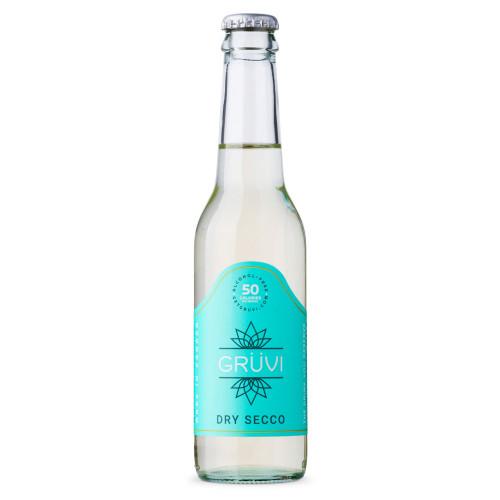 Gruvi Dry Secco Non-Alcoholic Wine Alternative - 9.3 oz Bottle