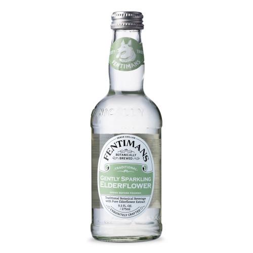 Fentimans Gently Sparkling Elderflower - 9.3 oz Bottle