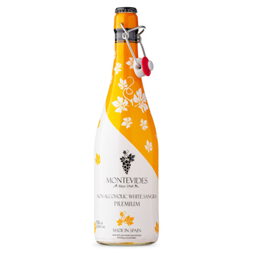 Montevides Non-Alcoholic Sparkling Cava White Sangria - 750ml Bottle