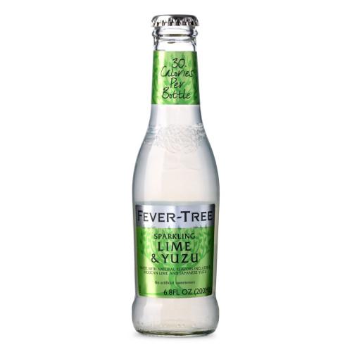 Fever Tree Sparkling Lime & Yuzu Soda Mixer - 6.8 oz