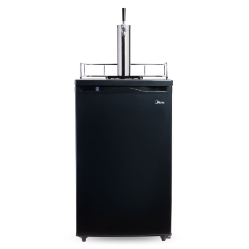 Economy Kegerator - Single Tap - Black Door