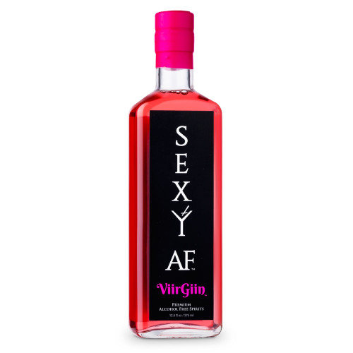Sexy AF ViirGiin Alcohol Free Gin Spirits - 750ml