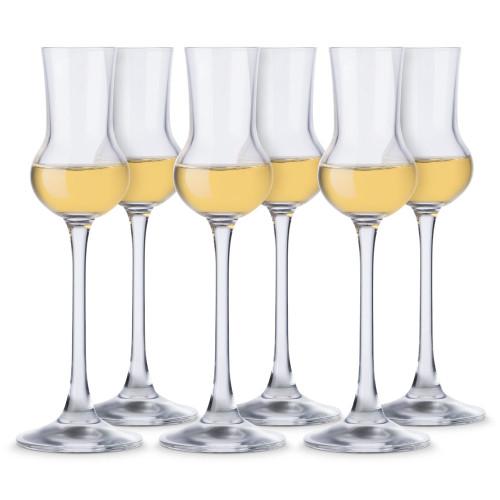 John Jenkins Connoisseur Grappa Glasses - 2.5 oz - Set of 6