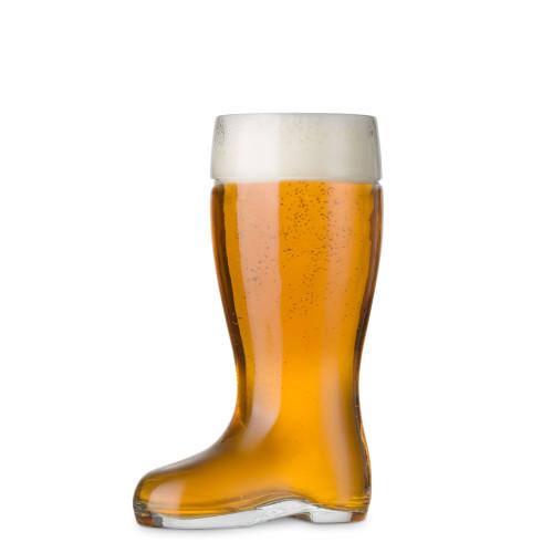 Stolzle Biersiefel Oktoberfest Glass Beer Boot - 17.5 oz