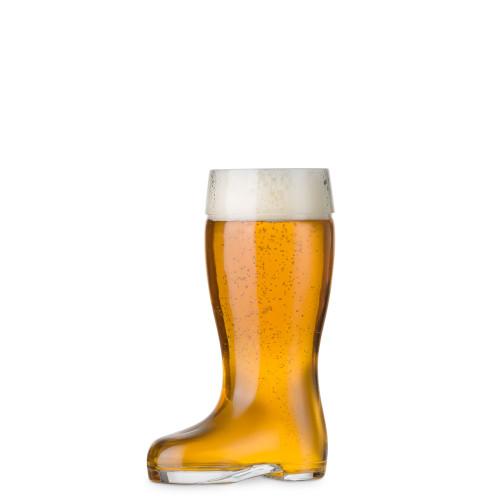Stolzle Biersiefel Oktoberfest Glass Beer Boot - 9 oz