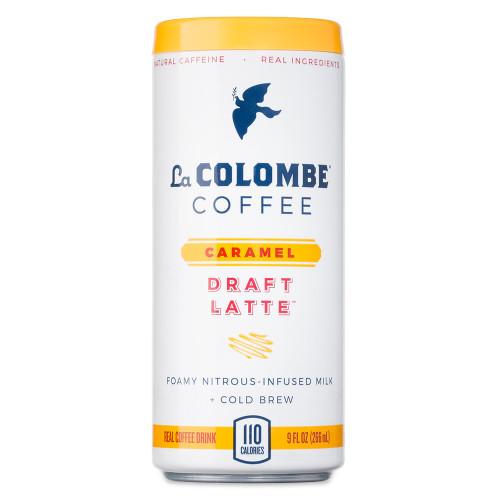 La Colombe Caramel Nitro Draft Latte Coffee Drink - 9 oz Can