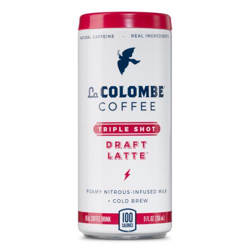 La Colombe Triple Shot Nitro Draft Latte Coffee Drink - 9 oz Can