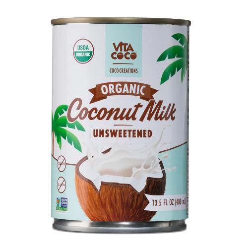 Vita Coco Organic Coco Creations Unsweetened Coconut Milk - 13.5 oz Can