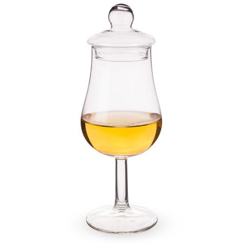 Urban Bar Spey Whiskey Tasting Glass with Glass Lid - 4.7 oz