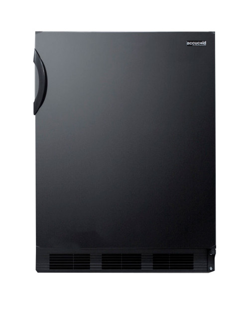 Summit Commercial Refrigerator - 5.5 cu. ft. - Black