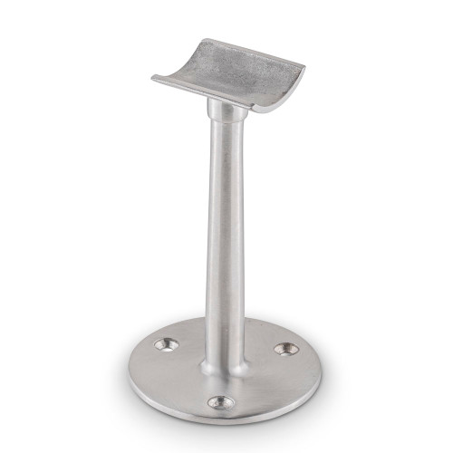 "Saddle Post - Brushed (Satin) Stainless Steel - 2"" OD"