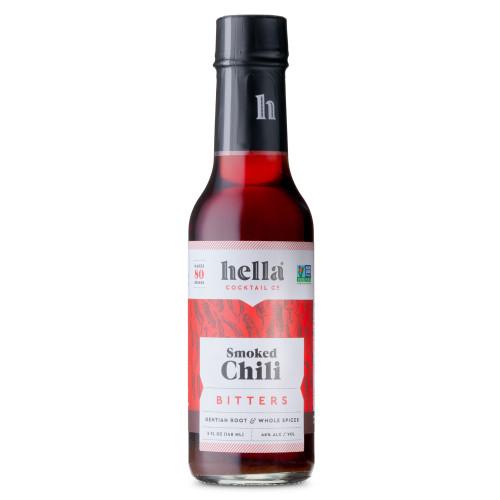 Hella Bitters Smoked Chili Cocktail Bitters - 5 oz