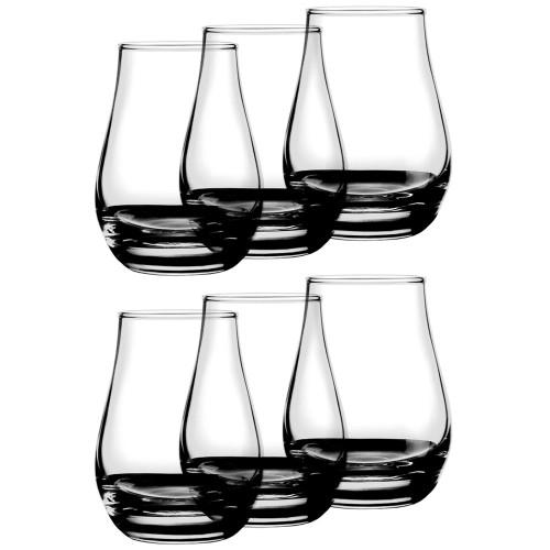 Urban Bar Spey Dram Whiskey Glasses - 4 oz - Set of 6