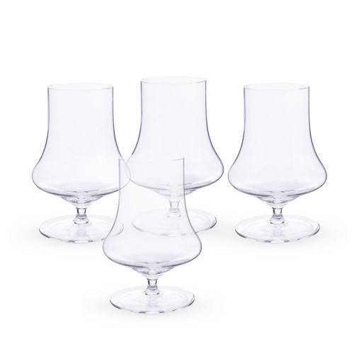 Spiegelau Willsberger Crystal Whiskey Glasses - Set of 4 - 12.9 oz