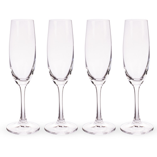Spiegelau Wine Lovers Crystal Champagne Flutes - 6.7 oz - Set of 4