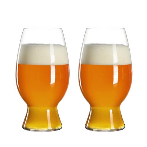 Spiegelau American Wheat-Witbier Craft Beer Glasses - 26.5 oz - 2 Pack