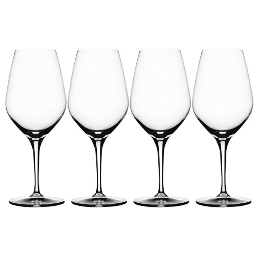 Spiegelau Rose Crystal Wine Glasses - 17 oz - Set of 4