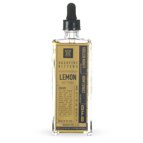 Dashfire Lemon Cocktail Bitters - 3.4 oz
